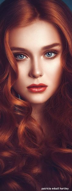 Greatest red head model photography