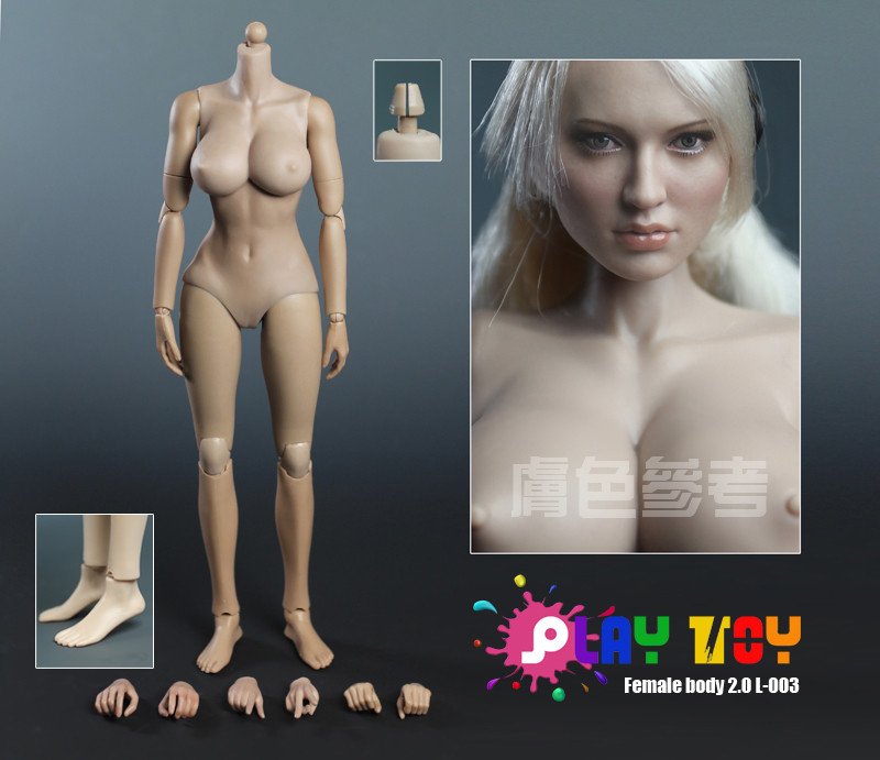 Naked girl action figures