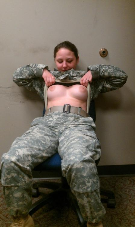 Active military female sexy naked