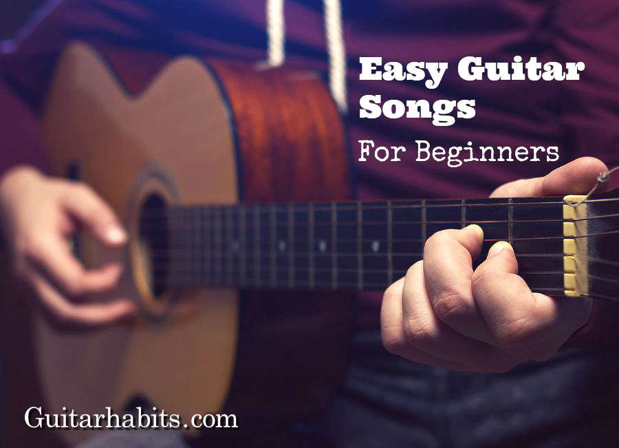 Easy popular guitar songs without capo
