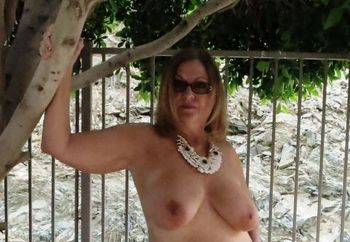 Naked in backyard pictures