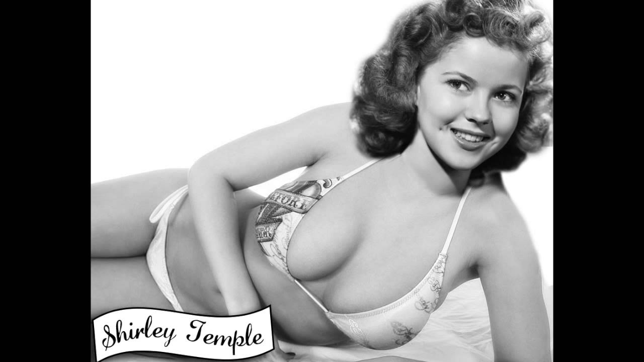 Shirley temple nude pose