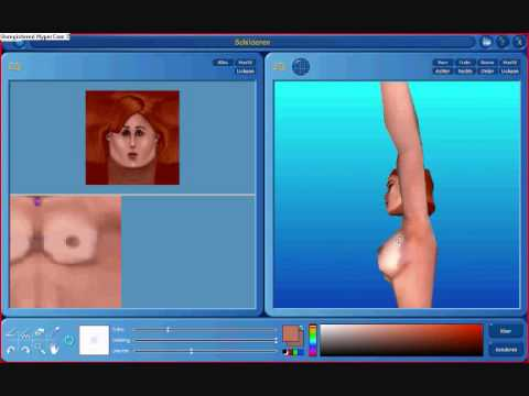 The sims nude girl